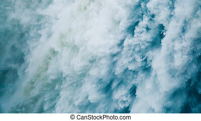 Waterfall closeup