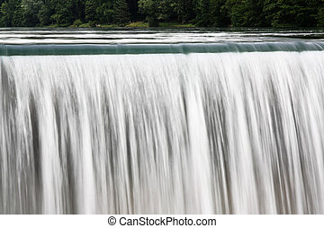 Waterfall Curtain from a Power Stat