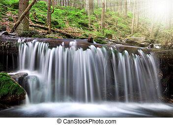 Waterfall - Czech Republic