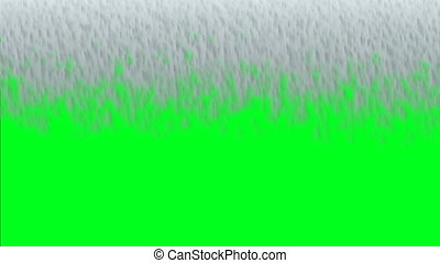 Waterfall Effect On Green Screen