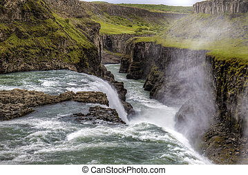 Waterfall Gulfoss