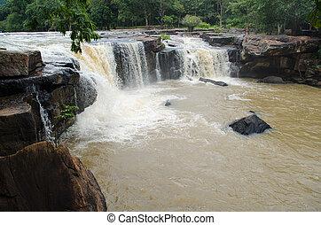 Tad Ton Waterfall in Chaiyaphum province