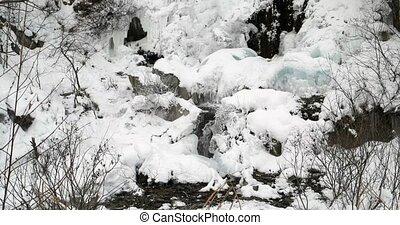 Waterfall ice