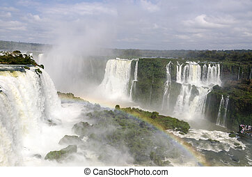waterfall Iguacu