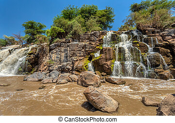 waterfall in Awash National Park