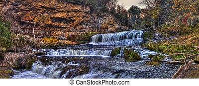 Waterfall in hdr