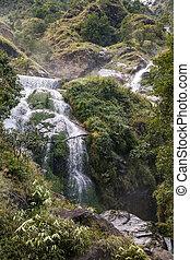 Waterfall in Himalayas