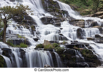 waterfall in national park