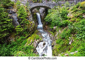 Waterfall in Rainier