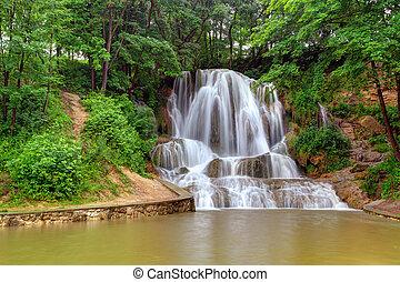 Waterfall in Slovakia - Lucky