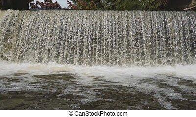 Waterfall in slow motion