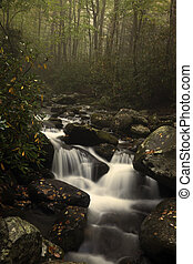 Waterfall in Smoky Mountains