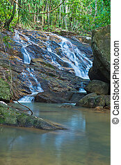 Waterfall in thailand