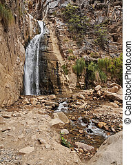 Waterfall in Tilcara, Argentina - Argentina, Jujuy Province...