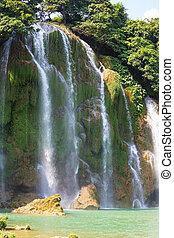 Waterfall in Vietnam - Ban Gioc - Detian waterfall in...