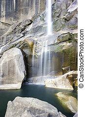 Waterfall in Yosemite National Park