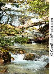 Waterfall Jur-Jur in Cremea.