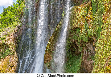 Waterfall Krcic close-up