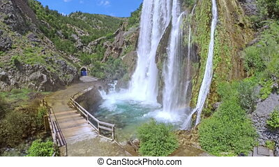 Waterfall Krcic in Knin