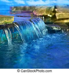 Waterfall - Little decorative waterfall