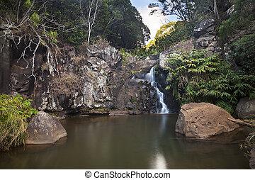 Waterfall Long Exposure, Kauai