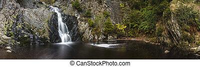 Waterfall Long Exposure Panorama