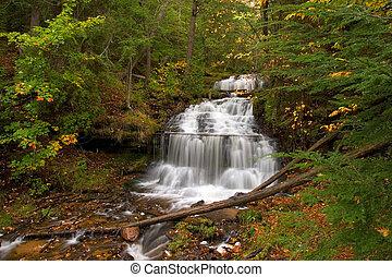 Waterfall Michigan