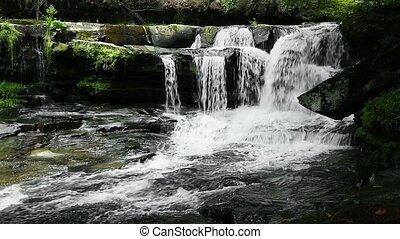 Waterfall on Dunloup Creek Loop - Loop features Dunloup...