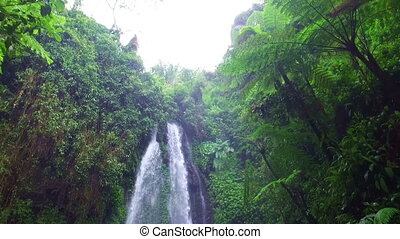 Waterfall on East Java Indonesia
