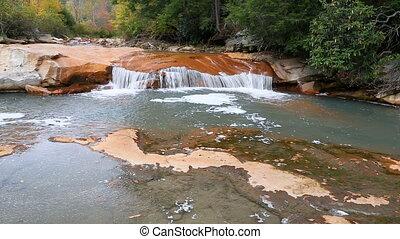 Waterfall on North Branch Blackwater River Loop - Seamless...