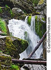 Waterfall on the river Zhigalan 1