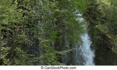 Waterfall on the Zlatibor Mountain