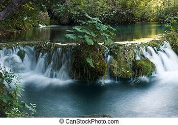 Waterfall Park Plitvice Croatia