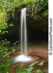 Waterfall - Scott Falls, Michigan