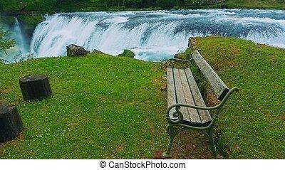 Waterfall Strbacki buk - Beautiful nature of the Una river...
