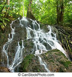 Ton Sai waterfall in Thailand