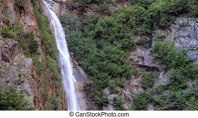 Waterfall - Twin Falls, near Smithers British Columbia...