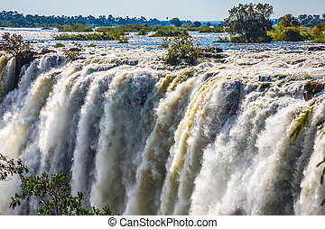 Waterfall Victoria after the rainy season