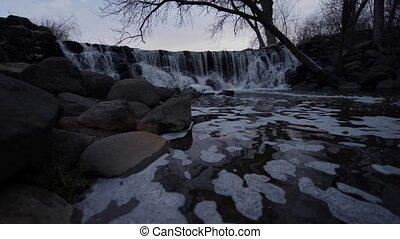 Waterfall Whitnall Park Franklin WI