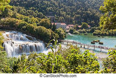 Krka National Park in Croatia