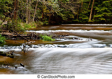 waterfalls in roztocze