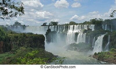 Waterfalls in the Iguazu National Park