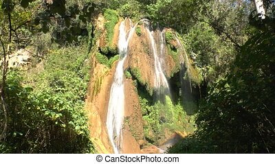 Waterfalls in Topes de Collantes, C