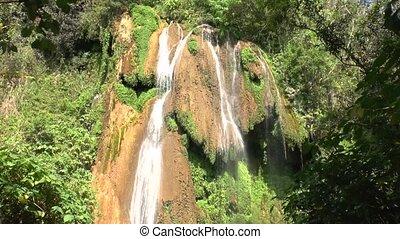 Waterfalls in Topes de Collantes, Cuba