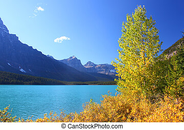 Waterfowl Lakes in Banff Park