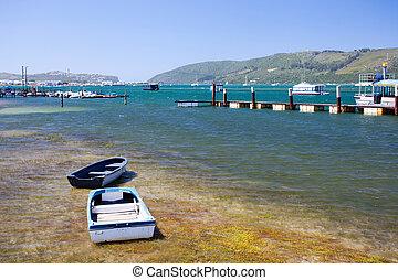 waterfront, afrika, knysna, déli