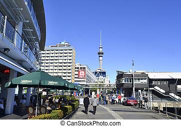 waterfront, -, auckland, zelândia, novo