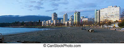 Waterfront Living along Sunset Beach in Vancouver BC