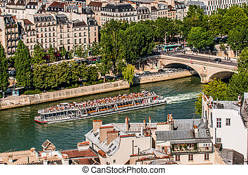 waterfront paris city France