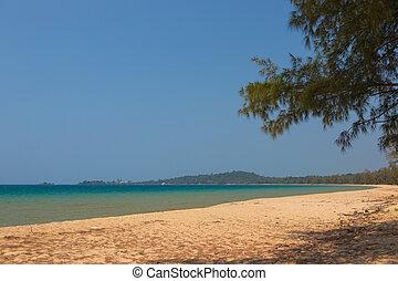 beach on the island of Phu Quoc, Vietnam